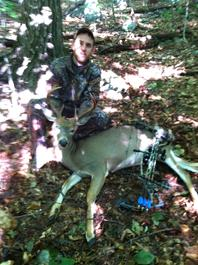 I Shot A Nice 8 Pointer And A Spike Horn With My Bow As Well As A 6 Pointer And Doe With My Gun