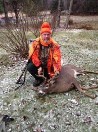 This 8 Pointer Came In On The Run After Just 45 Minutes